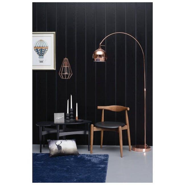 Bouvier Dining Chair - Oak, Carrot - 3