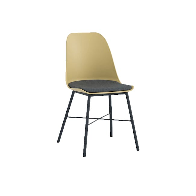 Denver Dining Chair - Dusty Yellow - 0