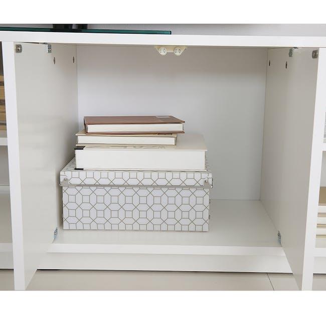 Hollis TV Shelf Rack 1.6m - 4