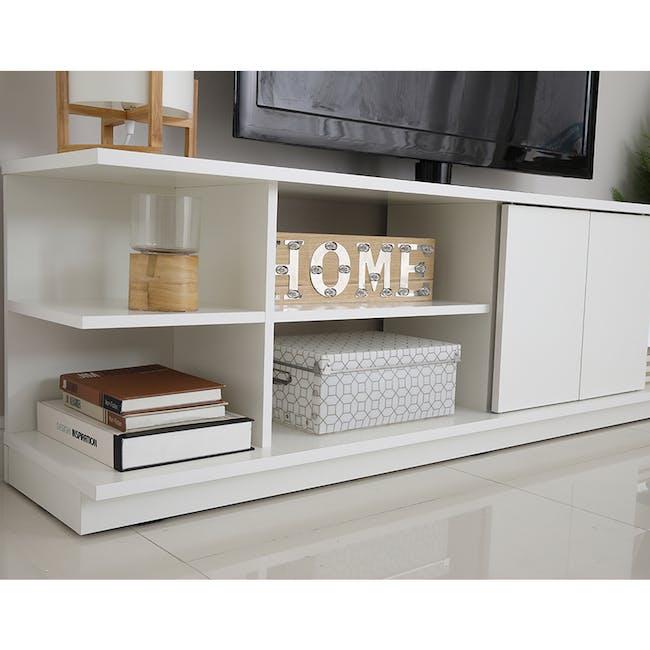 Hollis TV Shelf Rack 1.6m - 2