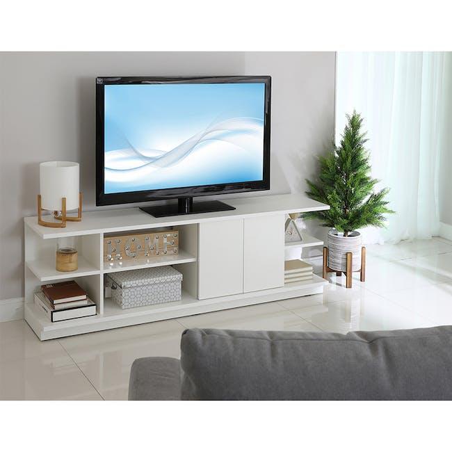 Hollis TV Shelf Rack 1.6m - 1