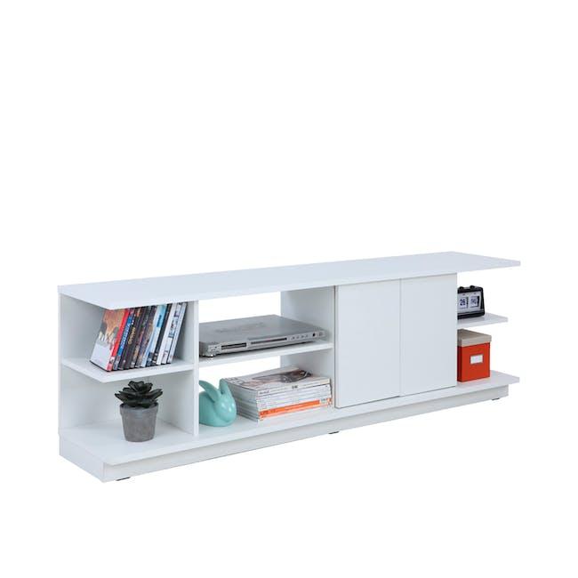 Hollis TV Shelf Rack 1.6m - 6