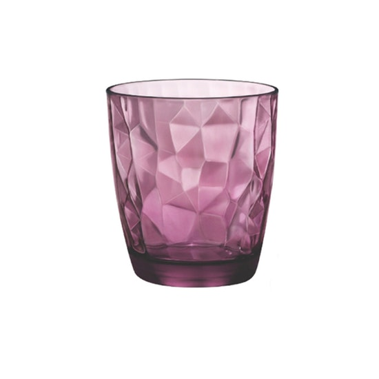 Bormioli Rocco - Diamond Water 300 ml - Rock Purple