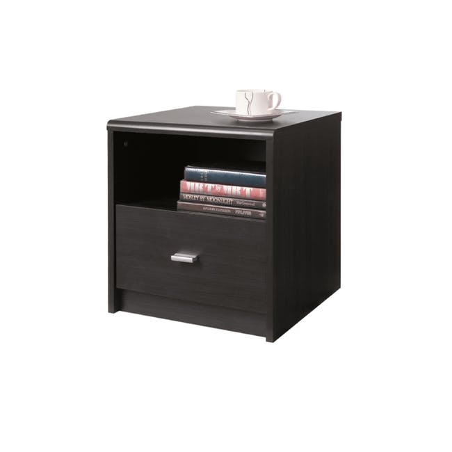 Willy Bedside Table - Brown - 0