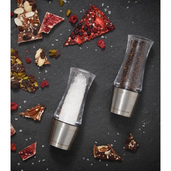 Cole & Mason Downton Stemless Precision Salt Mills - 1