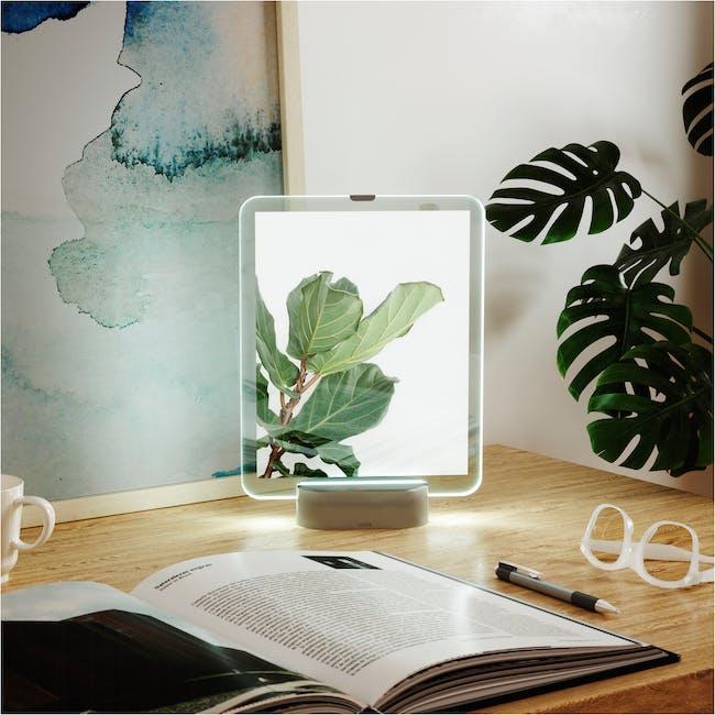Glo 8 x 10 Photo Display - Nickel - 2
