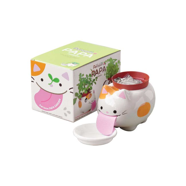 Seishin Peropon PAPA - Cat (Wild Strawberry) - 0