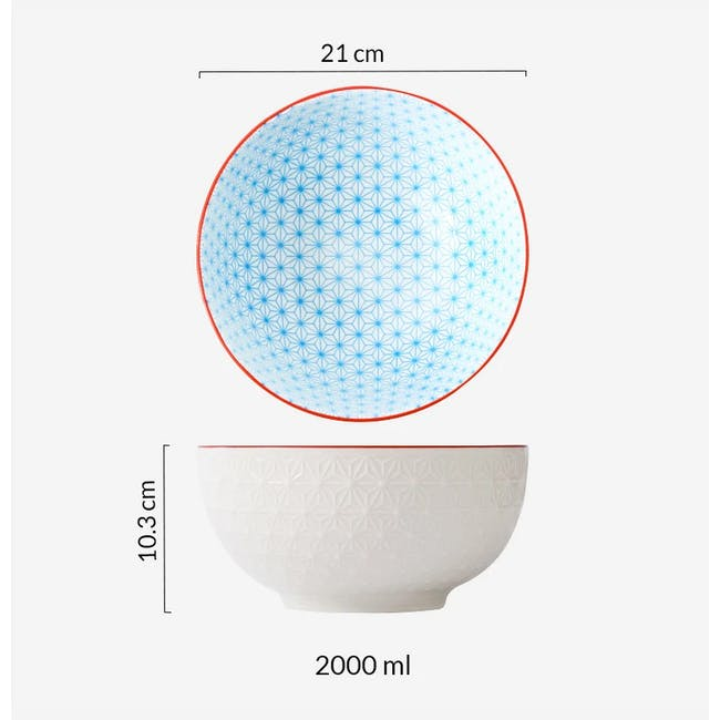 Table Matters Starry Blue Bowl (3 Sizes) - 4