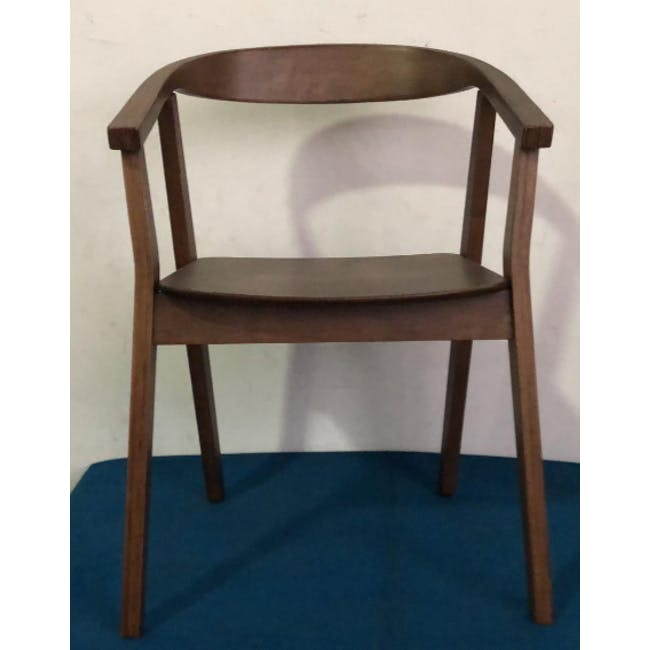 (As-is) Greta Chair - Cocoa - 5 - 1