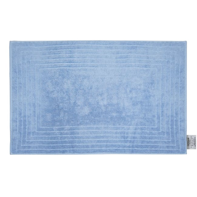 Canningvale Egyptian Royale Bath Mat - Cielo Blue - 0