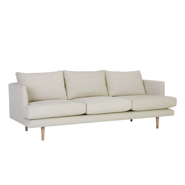 Duster 3 Seater Sofa - Almond (Fabric) - 3