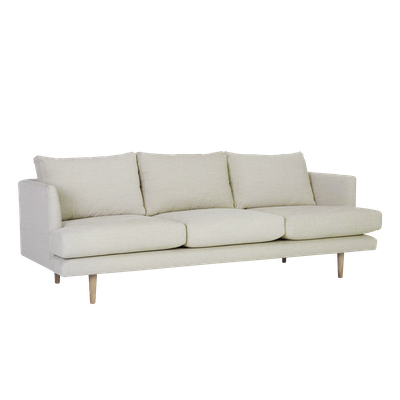 Duster 3 Seater Sofa - Almond - Image 2