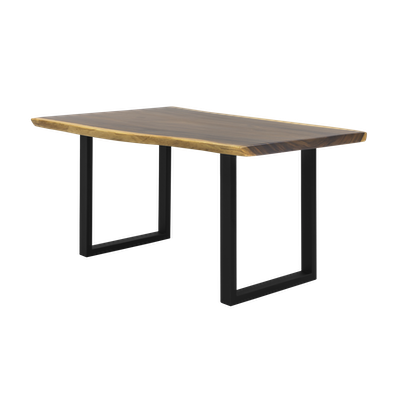 Frank Solid Suar Live Edge Dining Table - 1.6m - Image 1