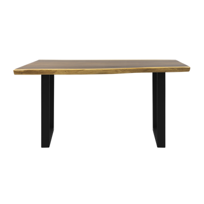 Frank Solid Suar Live Edge Dining Table - 1.6m - Image 2