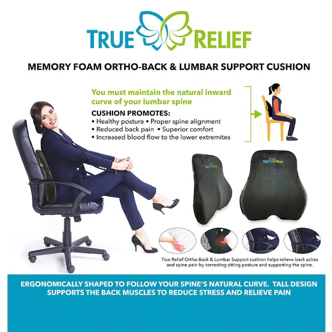 True Relief Back Care Combo Value Set - Navy - 2