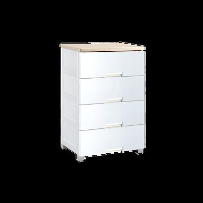 Wayho 4-Tier Wooden Top Cabinet - Image 2