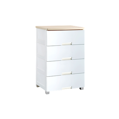 Wayho 4-Tier Wooden Top Cabinet - Image 2