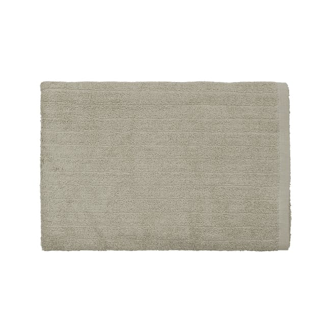 EVERYDAY Bath Towel - Taupe (Set of 4) - 1