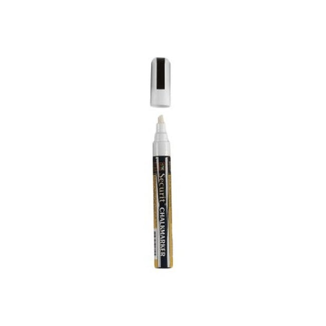 Securit Liquid Chalk Marker With 2-6Mm Tip - White - 0