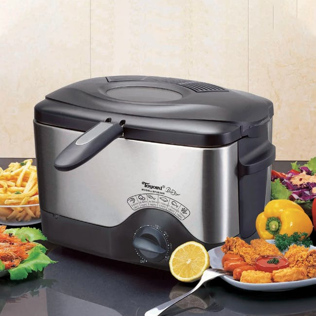 TOYOMI Deep Fryer with Stainless Steel Body 1.5L - DF 323SS - 2