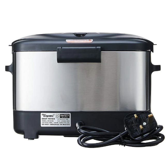 TOYOMI Deep Fryer with Stainless Steel Body 1.5L - DF 323SS - 1
