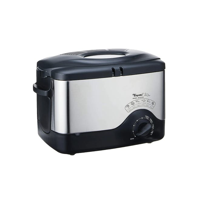 TOYOMI Deep Fryer with Stainless Steel Body 1.5L - DF 323SS - 3