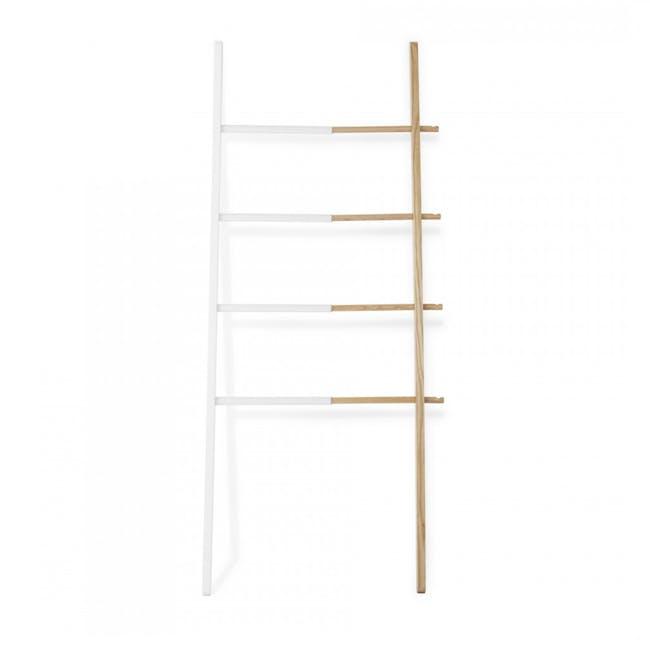 Hub Ladder - White, Natural - 0
