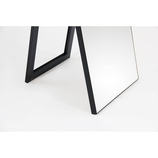 Zoey Standing Mirror 30 x 150 cm - Black - 6