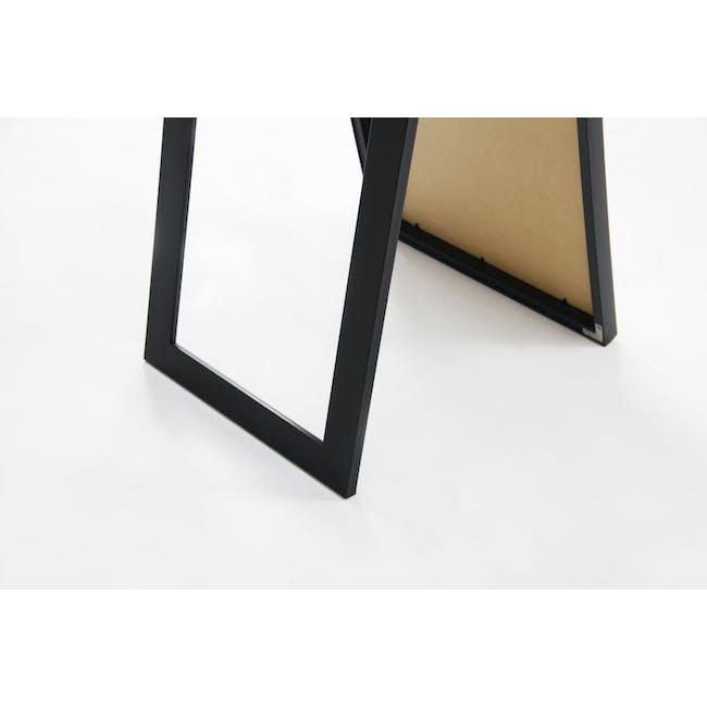 Zoey Standing Mirror 30 x 150 cm - Black - 5