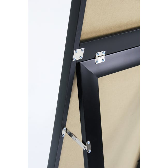 Zoey Standing Mirror 30 x 150 cm - Black - 7