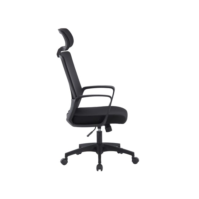 Warren High back Office Chair - Black - 2