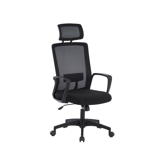 Warren High back Office Chair - Black - 1