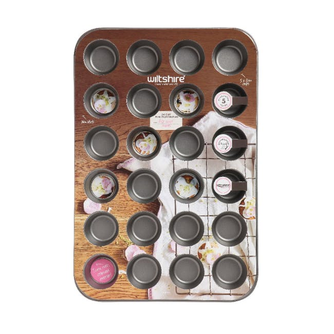 Wiltshire Two Toned Mini Muffin Pan 24 Cup - 1