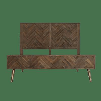 Cadencia Queen Bed with 2 Cadencia Bedside Tables - Image 2