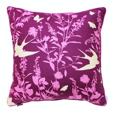 Swallows Square Cushion Cover