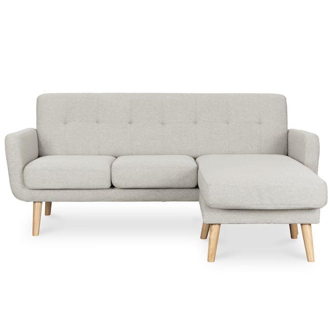 Cali L-Shaped Sofa - Sand - 0