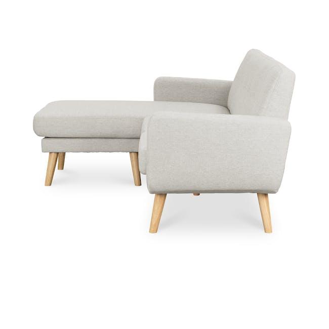 Cali L-Shaped Sofa - Sand - 3