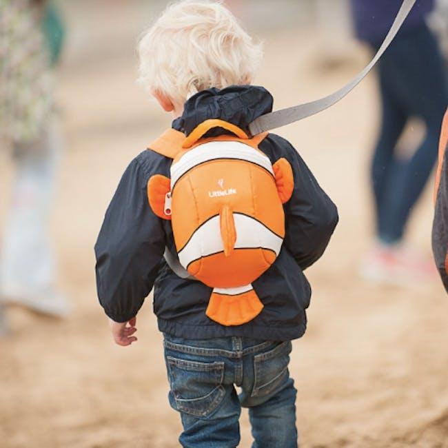 LittleLife Animal Toddler Backpack - Clownfish - 1