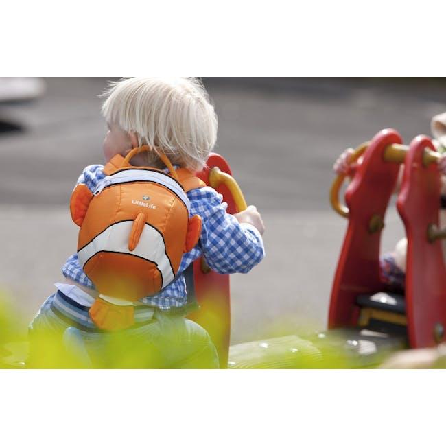 LittleLife Animal Toddler Backpack - Clownfish - 2