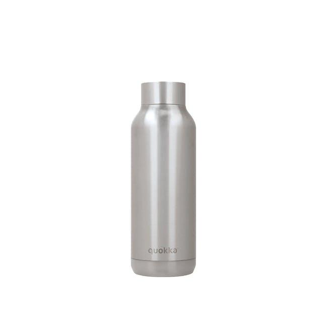 Quokka Stainless Steel Bottle Solid - Steel 510ml - 0