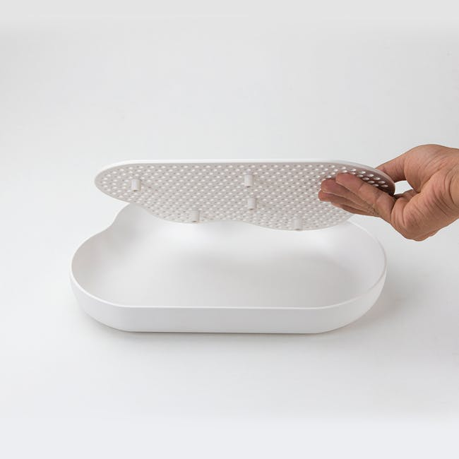 Drain Cloud Glass Drainer Tray - 2