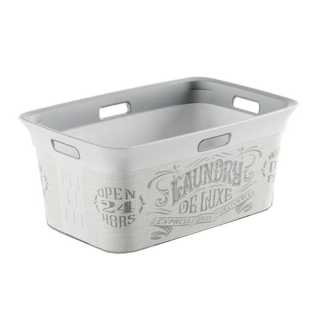 Chic Laundry Basket 45L - Deluxe - 0