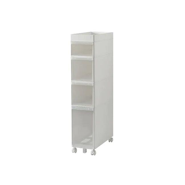 Krusty 4 Tier Rolling Storage Cabinet - 0