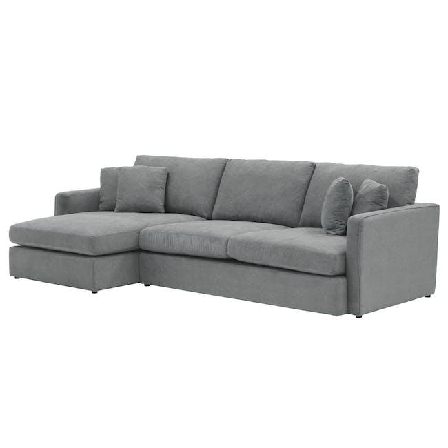 Ashley L-Shaped Lounge Sofa - Stone - 3