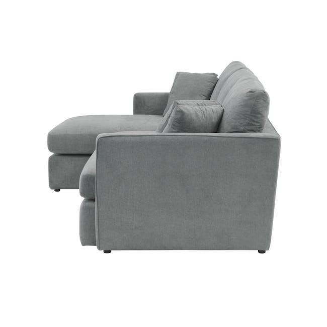 Ashley L-Shaped Lounge Sofa - Stone - 4
