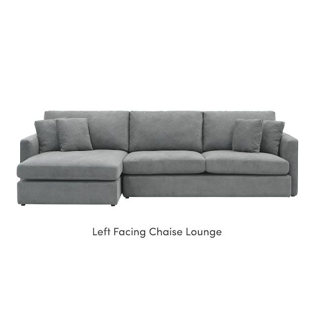 Ashley L-Shaped Lounge Sofa - Stone - 6
