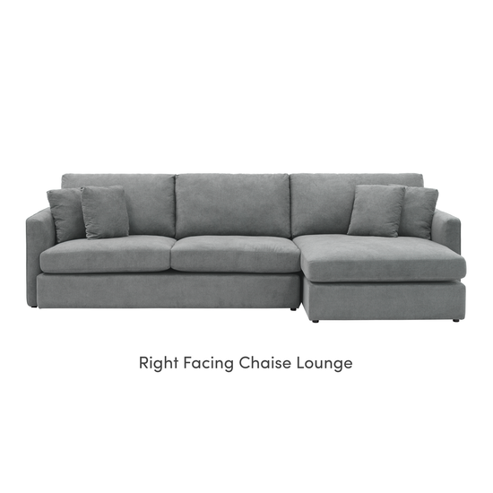 Ashley By Hipvan Ashley L Shape Sofa Grey Hipvan