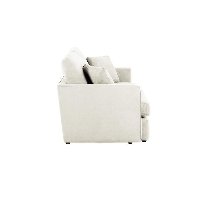 Ashley 3 Seater Lounge Sofa -Pearl - 4