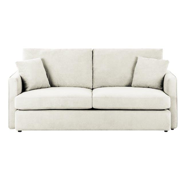 Ashley 3 Seater Lounge Sofa -Pearl - 0