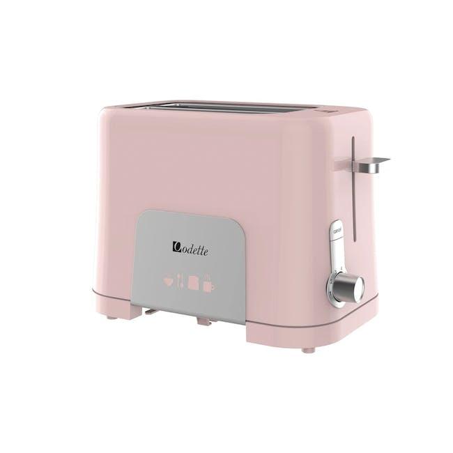 Odette Pastel 2-Slice Bread Toaster - Pink - 0